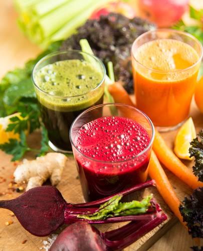 Mes jus 100% légumes !