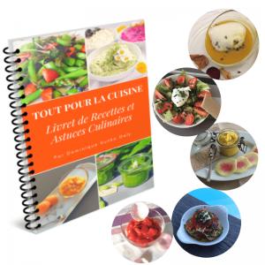 Livre de recettes et astuces culinaires